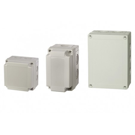 Europa PCM150/100G 180x130x100mm IP66 Enclosure with Grey Lid
