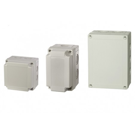 Europa PCM95/75G 100x100x75mm IP66 Enclosure with Grey Lid