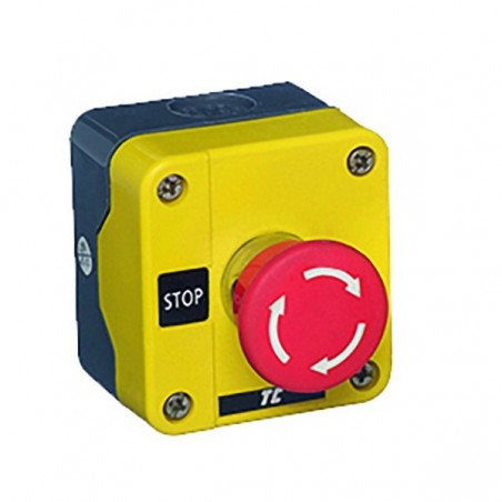Europa RCAS-ESB541NC Twist Release Emergency Pushbutton Stop with Enclosure