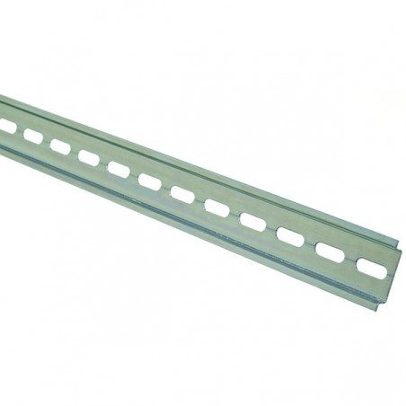 Europa STBDR2M 2 metre 35mm Top Hat Slotted Din Rail