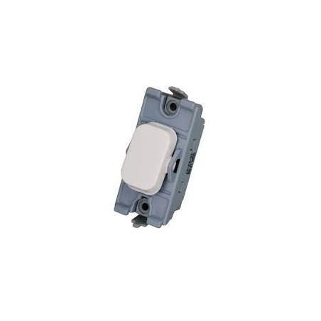 Schneider Lisse GGBL102W 10A 2 Way Grid Switch