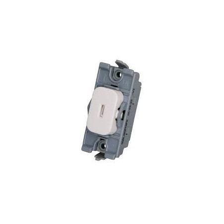 Schneider Lisse GGBL20DPKWPW 20A Double Pole Key Switch for Grid
