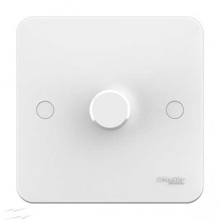 Schneider Lisse GGBL6012CS 1 Gang 2 Way 400W White Dimmer Switch