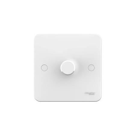 Schneider Lisse GGBL6012LS Dim/Sw 1 Gang 2 Way 100W White LED Dimmer Switch
