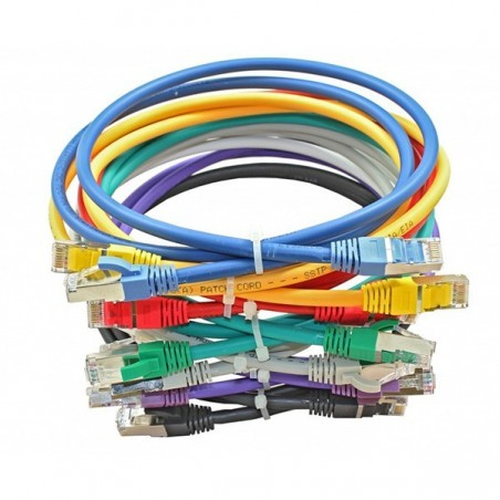 Connectix 003-010-030-05 Red 3m Cat6a Patch Lead S/STP
