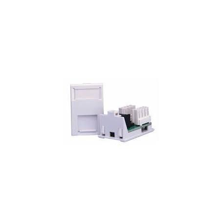 Connectix 008-000-000-10 Cat5e LJ6C UTP RJ45 Module 38.5x25mm White