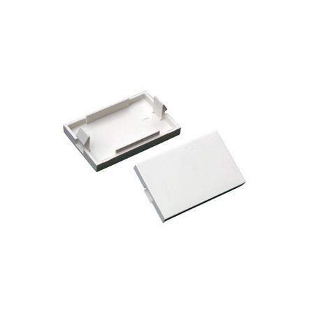 Connectix 008-001-004-07 LJ6C White Blank Insert 38.5x25mm
