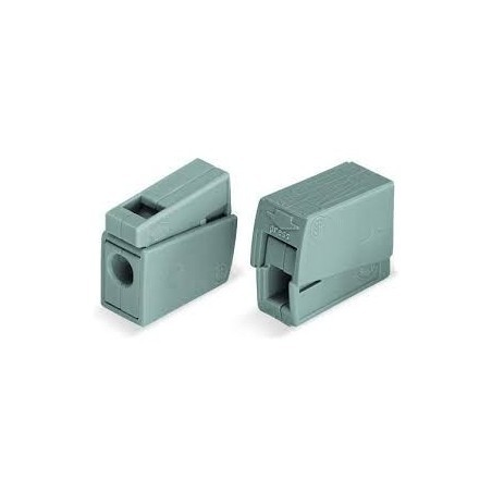 Wago 224-101 24A 0.5mm-2.5mm Grey Lighting Connector Pack of 100