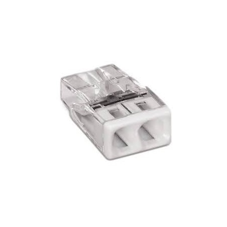 Wago 2273-202 24A 2 Way Push-Wire Connector Pack of 100