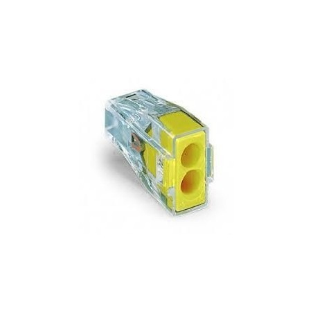 Wago 773-102 24A 2 Way Push-Wire Connector Pack of 100