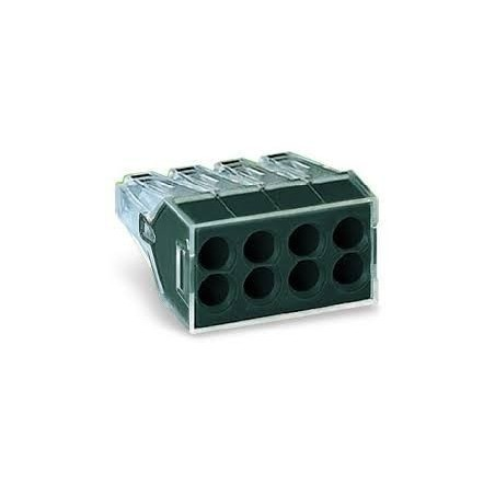 Wago 773-108 24A 8 Way Push-Wire Connector Pack of 50