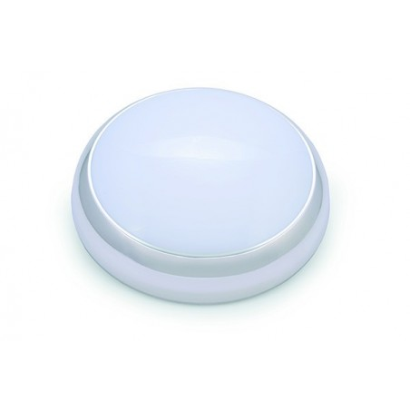 Hispec HSLED15DF/MSE 15W LED Microwave Round Bulkhead