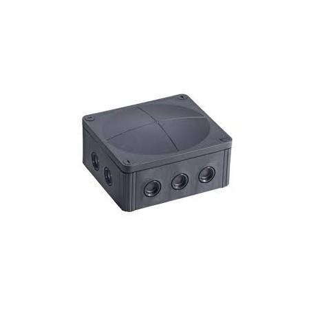 Wiska 10101463 Black Combi Box 1210/5 5 pole Junction Box IP67
