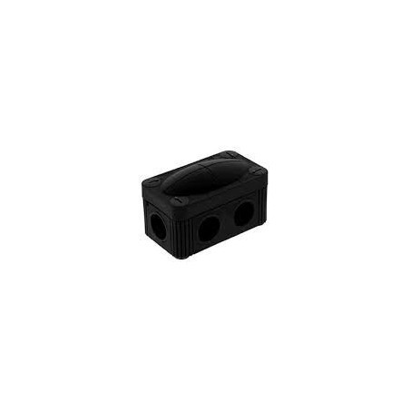 Wiska 10109571 Black Combi Box 206 Empty Junction Box IP67