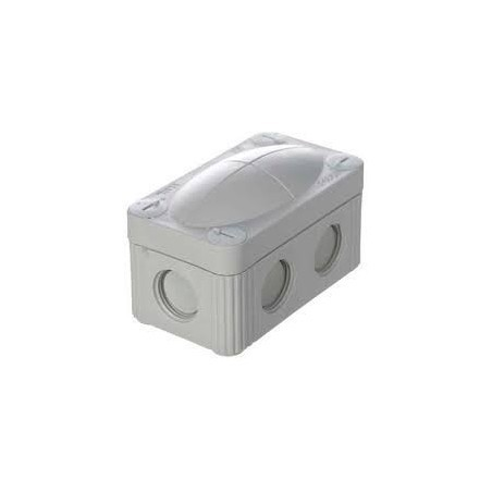 Wiska 10109901 Grey Combi Box 206 Junction Box  with 3 x Wago 221-413 IP67
