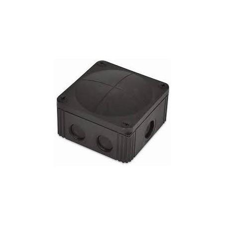 Wiska 10061779 Black Combi Box 607/5 5 pole Junction Box IP67
