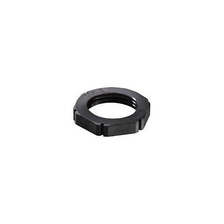 Wiska 10061783 25mm Black Locknut EMUG 25