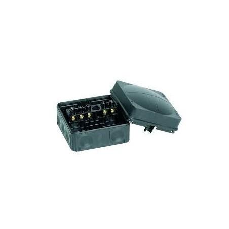 Wiska 10061998 Black Combi Box 108/5 5 pole Junction Box IP66