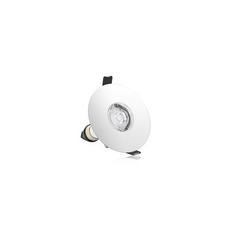 Integral ILDLFR70D021GU10 Fire Rated Polished Chrome Downlight