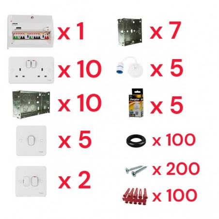 Discount Electrical First Fix Kit Bundle