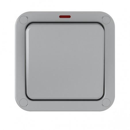 Eurolite WP3012 20A 1 Gang 2 Way Weatherproof Switch With Neon IP66
