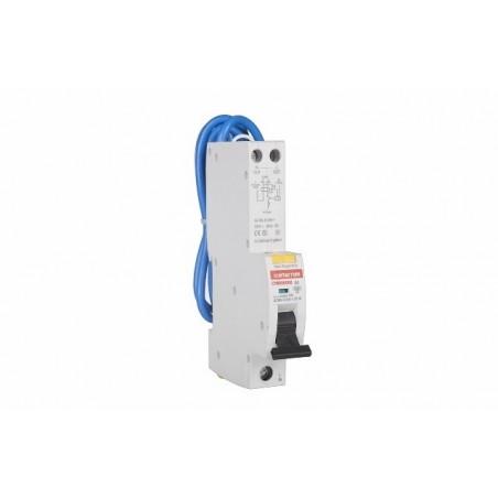Contactum CPBR1006B 6A Single Pole RCBO Type B 30mA 10kA Contactum - 1