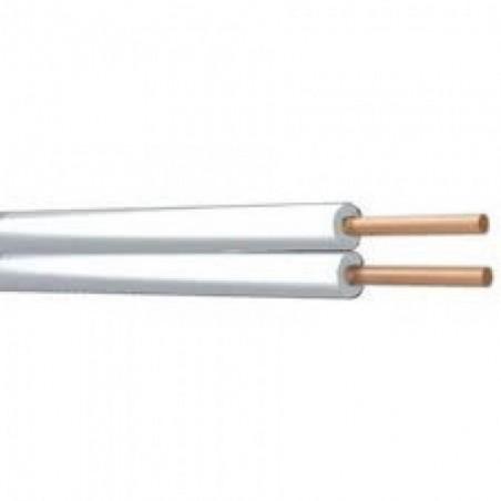 Speaker Cable White 100m Drum