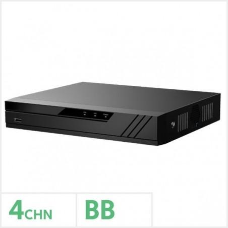 Qvis EAGLE-NVR-4K-4BB Eagle 4K 4 Channel NVR with No Storage