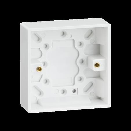 Knightsbridge SN1400 Single 25mm Pattress Box