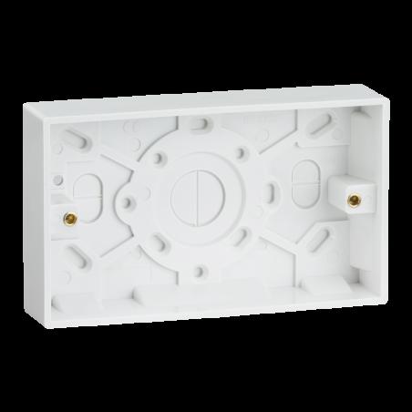 Knightsbridge SN1500 Double 25mm Pattress Box