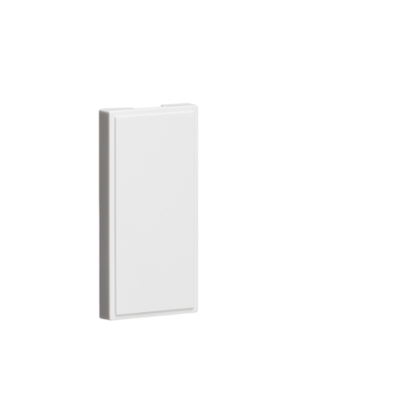 Knightsbridge NETHWH Pack of 10 - Half Blanking Modules (25 x 50mm) - White