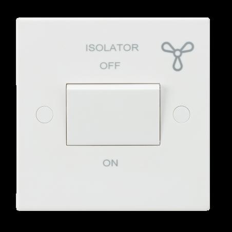 Knightsbridge SN1100 10AX 3 Pole Fan Isolator Switch
