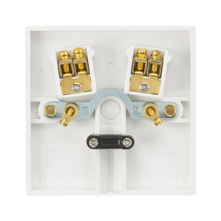 Knightsbridge SN8342 20A Flex Outlet Plate