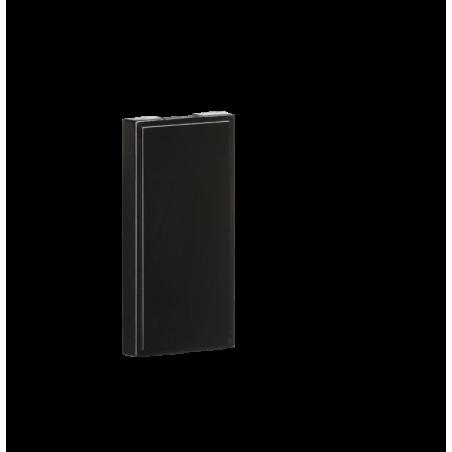 Knightsbridge NETHBK Pack of 10 - Half Blanking Modules (25 x 50mm) - Black