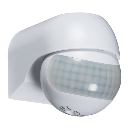 Knightsbridge OS0014 IP44 180° Mini PIR Sensor - White