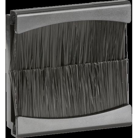 Knightsbridge NETBR2G Brush Module 50 x 50mm - Black