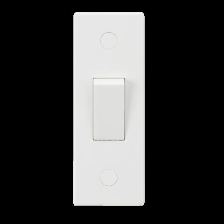 Knightsbridge SN127 10AX 1G 2-Way Architrave Switch