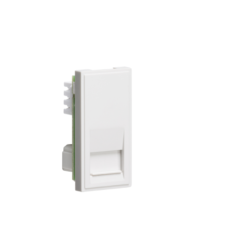 Knightsbridge NETBTSWH Telephone Secondary Outlet Module 25 x 50mm (IDC) - White