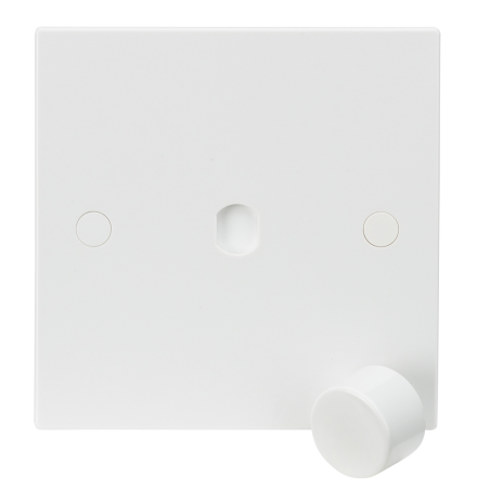 Knightsbridge SN1DIM 1G Plate with Dimmer Cap