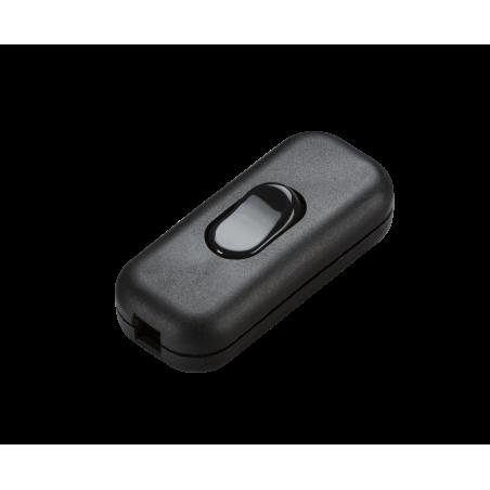 Knightsbridge ST6ABK 6A DP Inline Cord Switch - Black