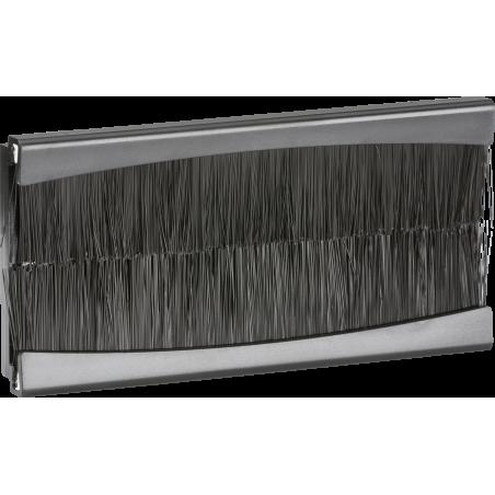 Knightsbridge NETBR4G Brush Module 100 x 50mm - Black