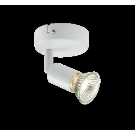 Knightsbridge NSPGU1W 230V GU10 Single Spotlight - White