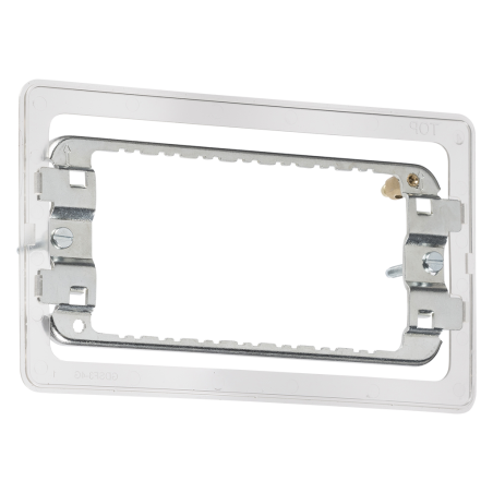 Knightsbridge GDS002F 3-4G grid mounting frame for Screwless
