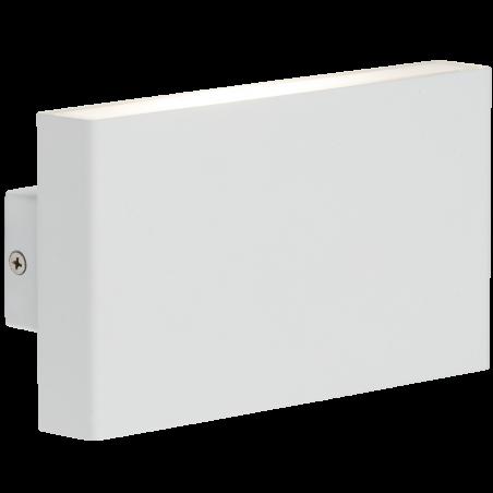 Knightsbridge WSM16W 230V IP54 2x8W Up/Down LED Wall Light - White