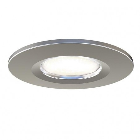 Ansell APRILEDBZ/SC Prism LED Fire Rated Downlight Accessory Satin Chrome trim bezel