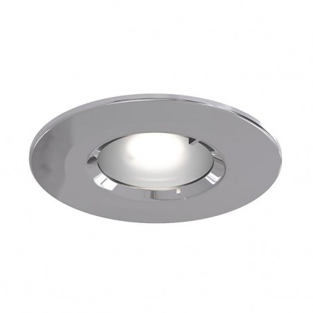 Ansell AEFRD/IP65/CH Edge GU10 IP65 Fire Rated Downlight 50W - Chrome