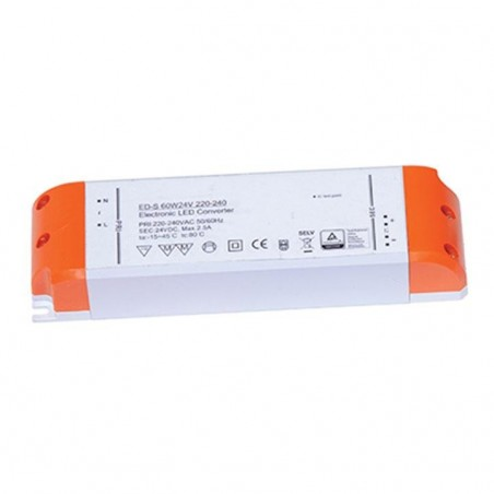 Ansell AD75W/12V LED Driver - Voltage Current Non-Dimmable 12V 75W