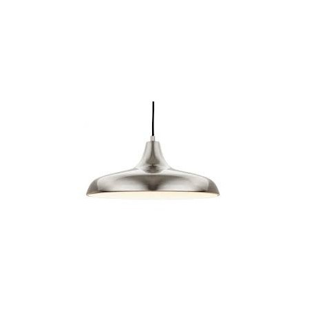 Firstlight 4854BS Curtis Pendant E27 Brushed Stainless Steel