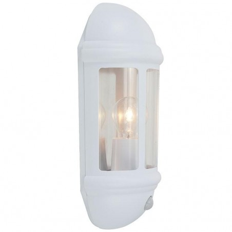 Ansell ALHL/PIR/WH Latina Polycarbonate Half Lantern with PIR 42W White