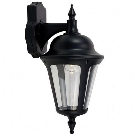 Ansell ALWL/BL Latina Polycarbonate Wall Lantern 42W Black